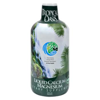 Tropical Oasis Liquid Calcium Magnesium Orange - 32 Fl Oz