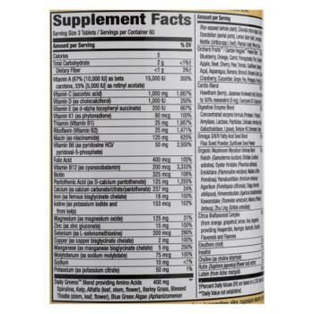 Nature's Way - Alive! Max3 Daily Multi-vitamin - Max Potency - 180 Tablets
