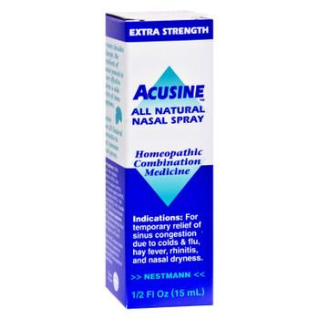 Acusine - Nasal Spray - .5 Oz