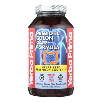 Yerba Prima Colon Care Formula - 12 Oz