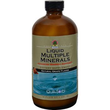 Nature's Answer - Liquid Multiple Minerals Grape - 16 Fl Oz