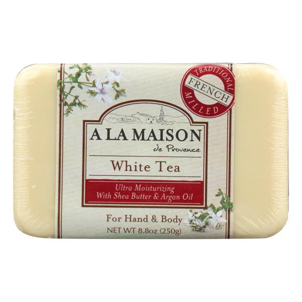 A La Maison - Bar Soap - White Tea - 8.8 Oz