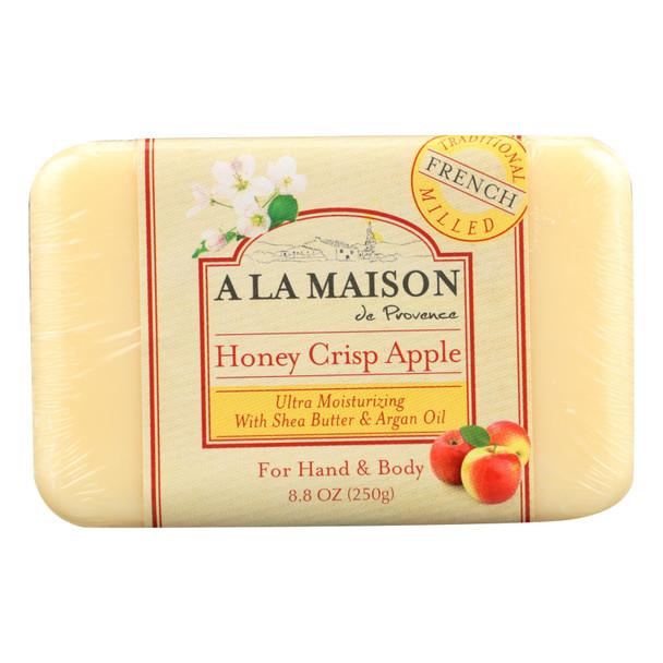 A La Maison - Bar Soap - Honey Crisp Apple - 8.8 Oz