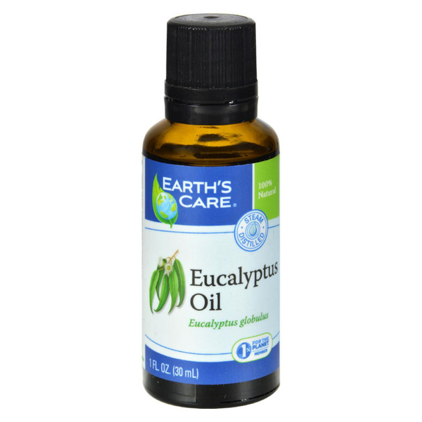 Earth's Care Essential Oil - 100 Percent Pure - Natr - Eucalyptus - 1 Fl Oz