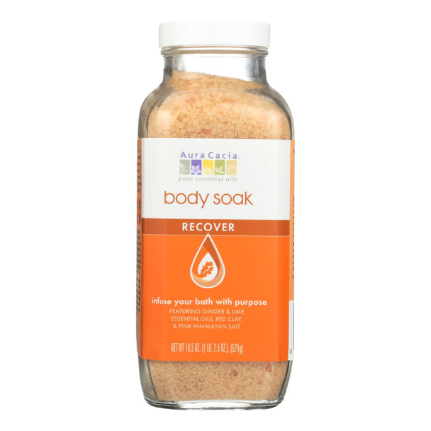 Aura Cacia - Body Soak - Recover - 18.5 Oz - 1 Each