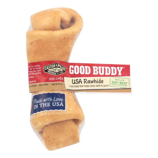 Castor And Pollux Good Buddy Rawhide Bone Dog Treat - Case Of 24