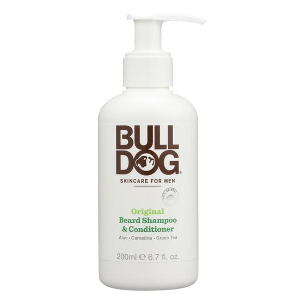 Bulldog Natural Skincare - Beard Shampoo - Conditioner - Original - 6.7 Fl Oz