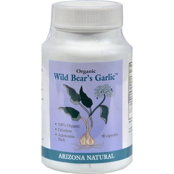 Arizona Natural - Wild Bear's Garlic 235mg - 90 Cap