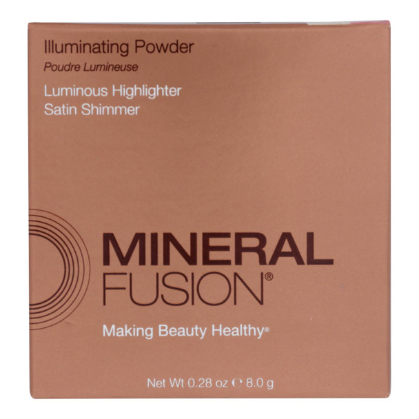 Mineral Fusion - Makeup Radiance Illuminating Powder - 0.29 Oz.
