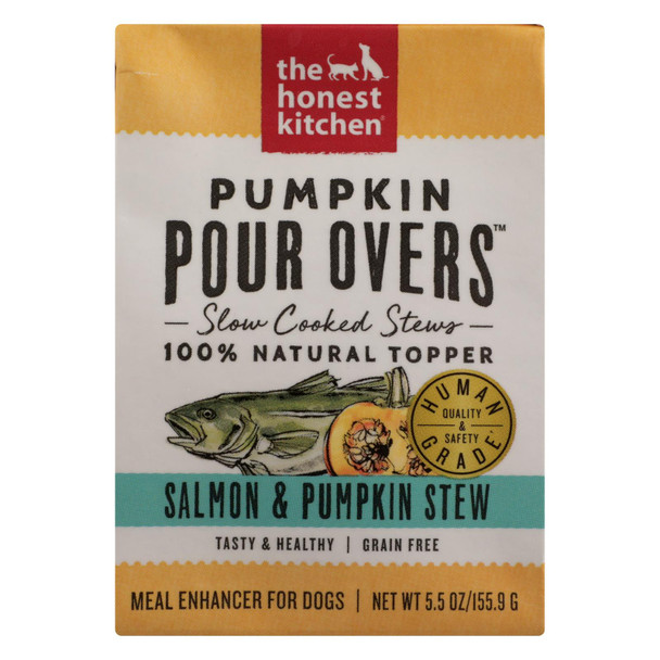 The Honest Kitchen - Dog Fd Por Ovr Slm Pkn St - Case Of 12 - 5.5 Oz
