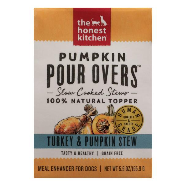 The Honest Kitchen - Dog Fd Por Ovr Turkey Pkn - Case Of 12 - 5.5 Oz