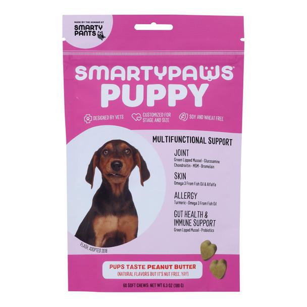 Smartypaws - Puppy Frmla Peanut Butter - 1 Each - 60 Ct
