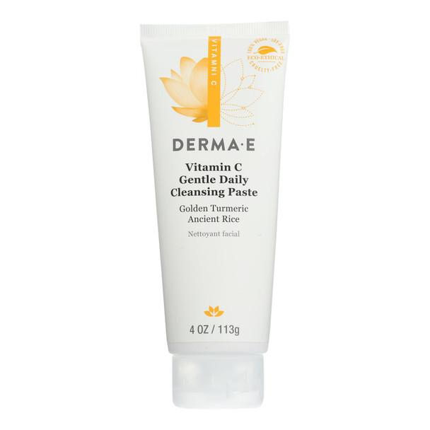 Derma E - Dly Clns Pst Vitamin C Gentle - 1 Each - 4 Oz
