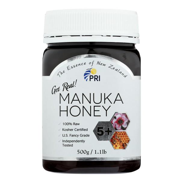 Pacific Resources International Manuka Honey  - Case Of 6 - 1 Lb