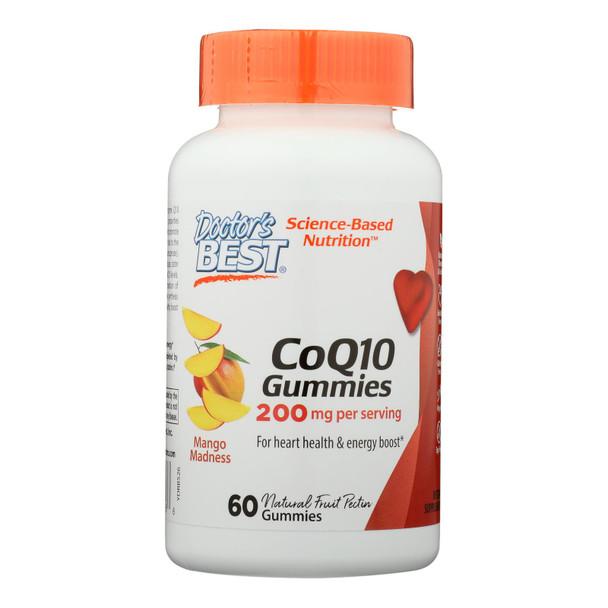 Doctor's Best - Coq10 200mg Gummies - 1 Each-60 Ct