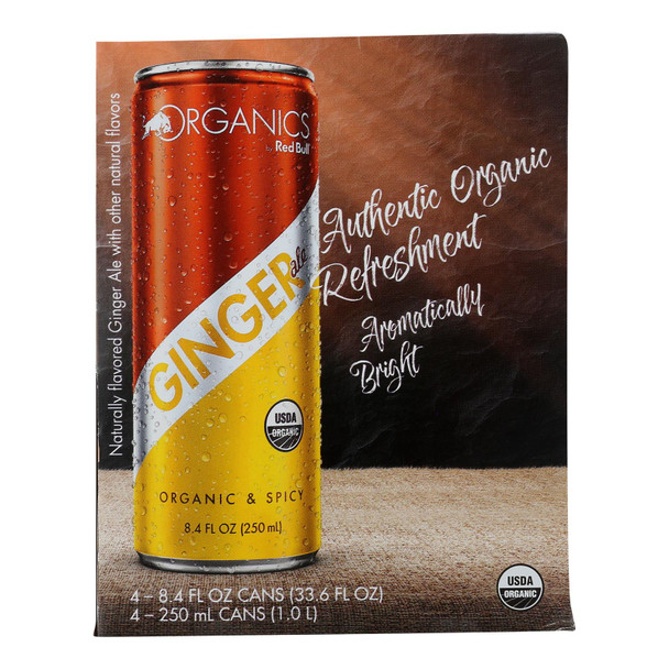 Organics By Red Bull - Bev Ginger Ale - Case Of 6 - 4/8.4 Fz