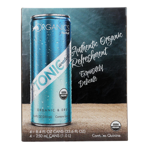 Organics By Red Bull - Bev Tonic Water - Case Of 6 - 4/8.4 Fz