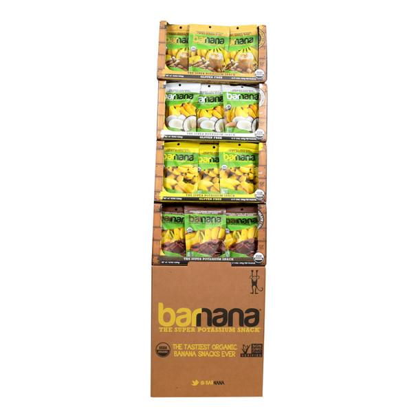Barnana - Dsp Ban Bites Og2 4 Flvr - Cs Of 48-3.5 Oz