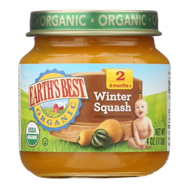 Earth's Best - Stg 2 Og2 Winter Squash - Cs Of 10-4 Oz