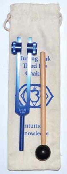 "8 1/2"" Third Eye (dark Blue) Tuning Fork"