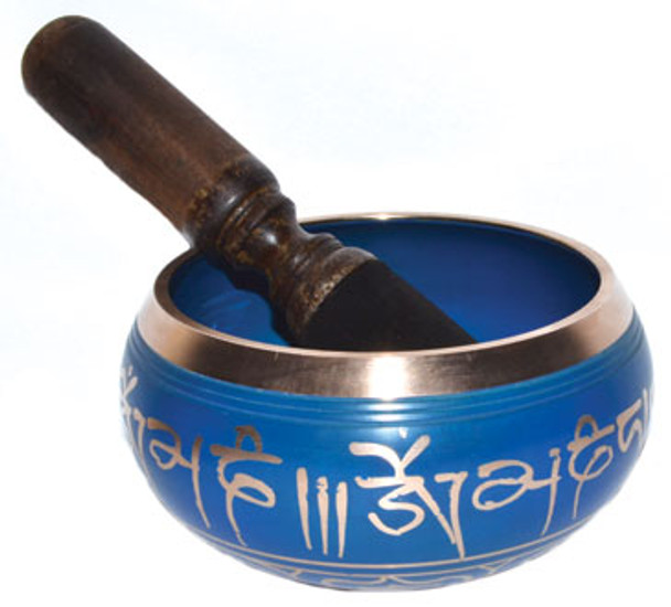 """5"""" Singing Bowl Assorted Colors"""