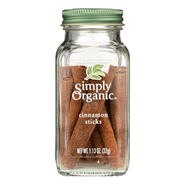 Simply Organic Cinnamon - Organic - Sticks - Grade Aa - 1.13 Oz