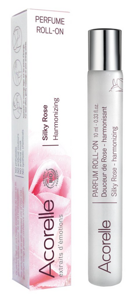 Acorelle - Roll-on Perfume - Silky Rose - 0.33 Oz.