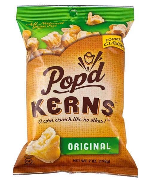 Pop'd Kerns Corn - Original - 12 Each - 12 Lb.