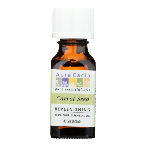 Aura Cacia - Pure Essential Oil Carrot Seed - 0.5 Fl Oz
