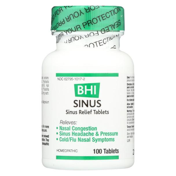 Bhi - Sinus Relief - 100 Tablets