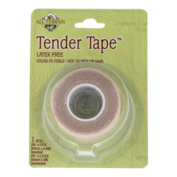 All Terrain - Tender Tape - 2 Inches X 5 Yards - 1 Roll