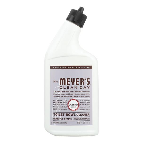 Mrs. Meyer's Clean Day - Toilet Bowl Cleaner - Lavender - 24 Fl Oz - Case Of 6