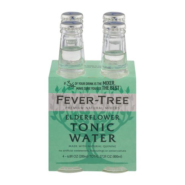 Fever - Tree Elderflower Tonic Water - Tonic Water - Case Of 6 - 6.8 Fl Oz.