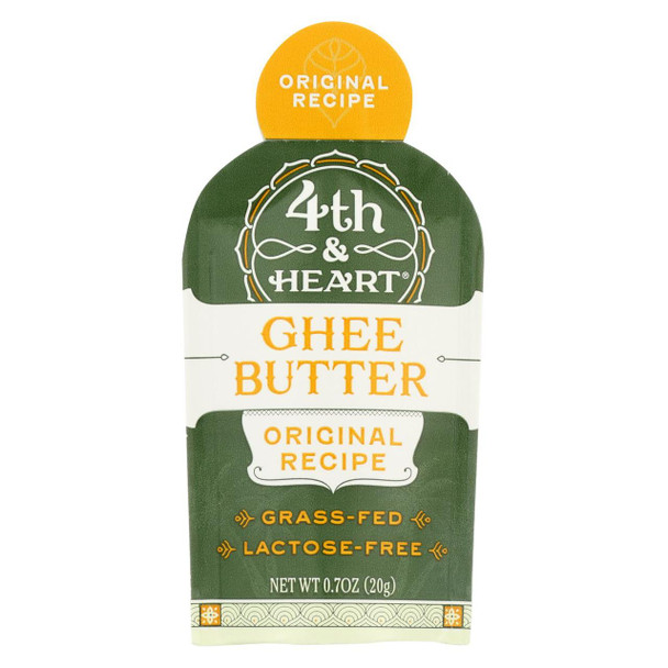 4th And Heart Ghee - Otg - Original - Case Of 5 - .7 Oz