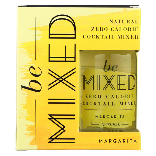 Be Mixed - Cocktail Mix - Margarita - Case Of 3 - 4/4 Fl Oz.