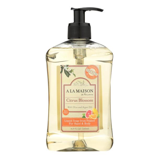 A La Maison - Liquid Hand Soap - Citrus Blossom - 16.9 Fl Oz.