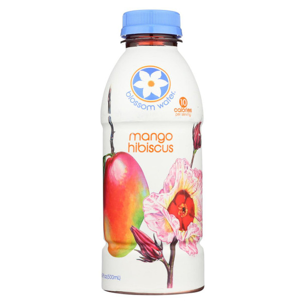 Blossom Water - Mango Hibiscus Essence Water - Case Of 12 - 16.9 Fz