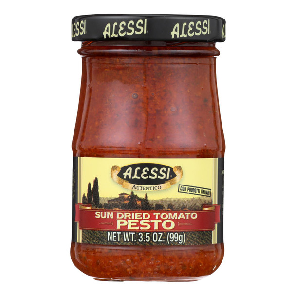 Alessi - Sundried Tomato Pesto - Case Of 12 - 3.5 Oz.