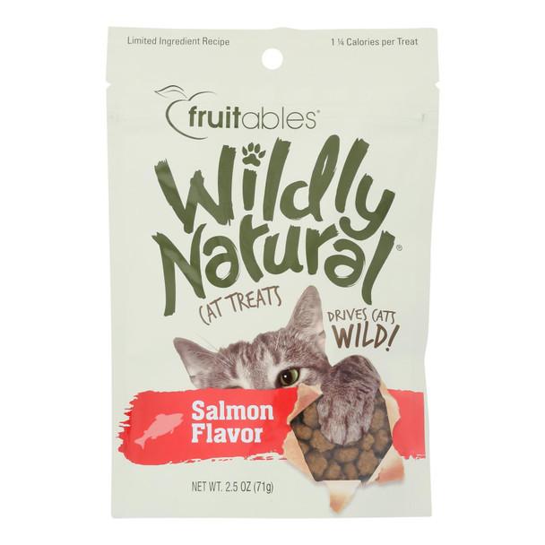Fruitables - Cat Treats Natural Salmon - Case Of 12 - 2.5 Oz