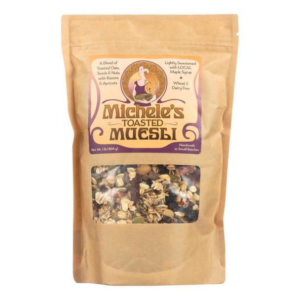 Micheles Granola Toasted Muesli - Case Of 12 - 16 Oz