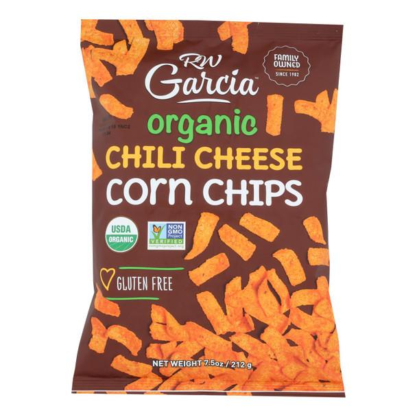 R. W. Garcia Organic Corn Chips - Case Of 12 - 7.5 Oz