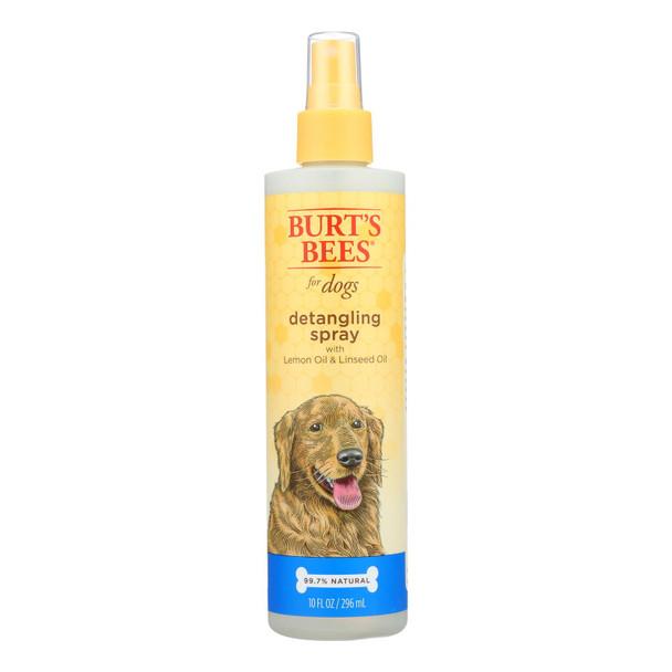 Burts Bees - Spray Detangle Dog Lemon - 1 Each - 10 Fz