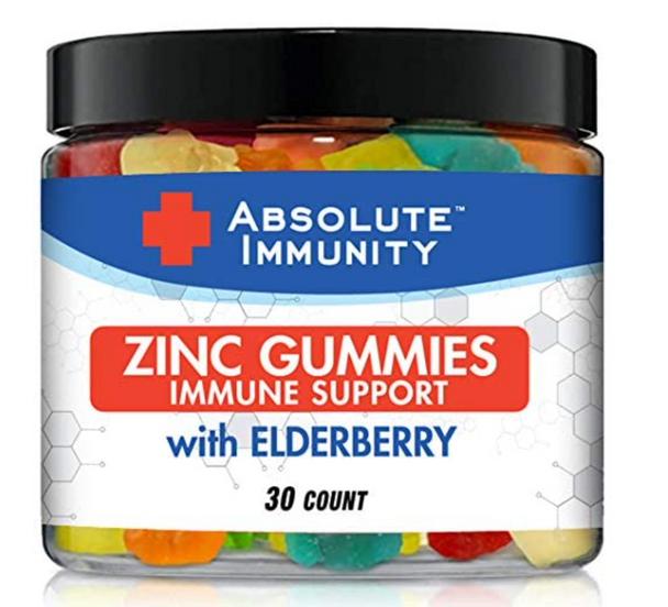 Absolute Immunity - Zinc Conctrt Elderberry - Ea Of 1-30 Ct