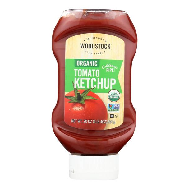 Woodstock Organic Tomato Ketchup - 1 Each 1 - 20 Oz