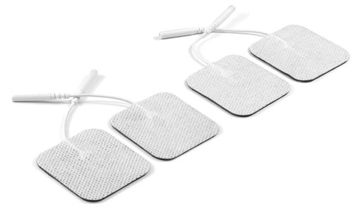 50mm x 50mm Square electrodes. Excellent value, great quality