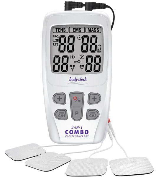 3-In-1 COMBO Electrotherapy Unit with 22 Programs