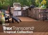 Trex Transcend Tropical Collection