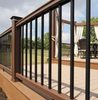 TimberTech Radiance Rail shown with round balusters