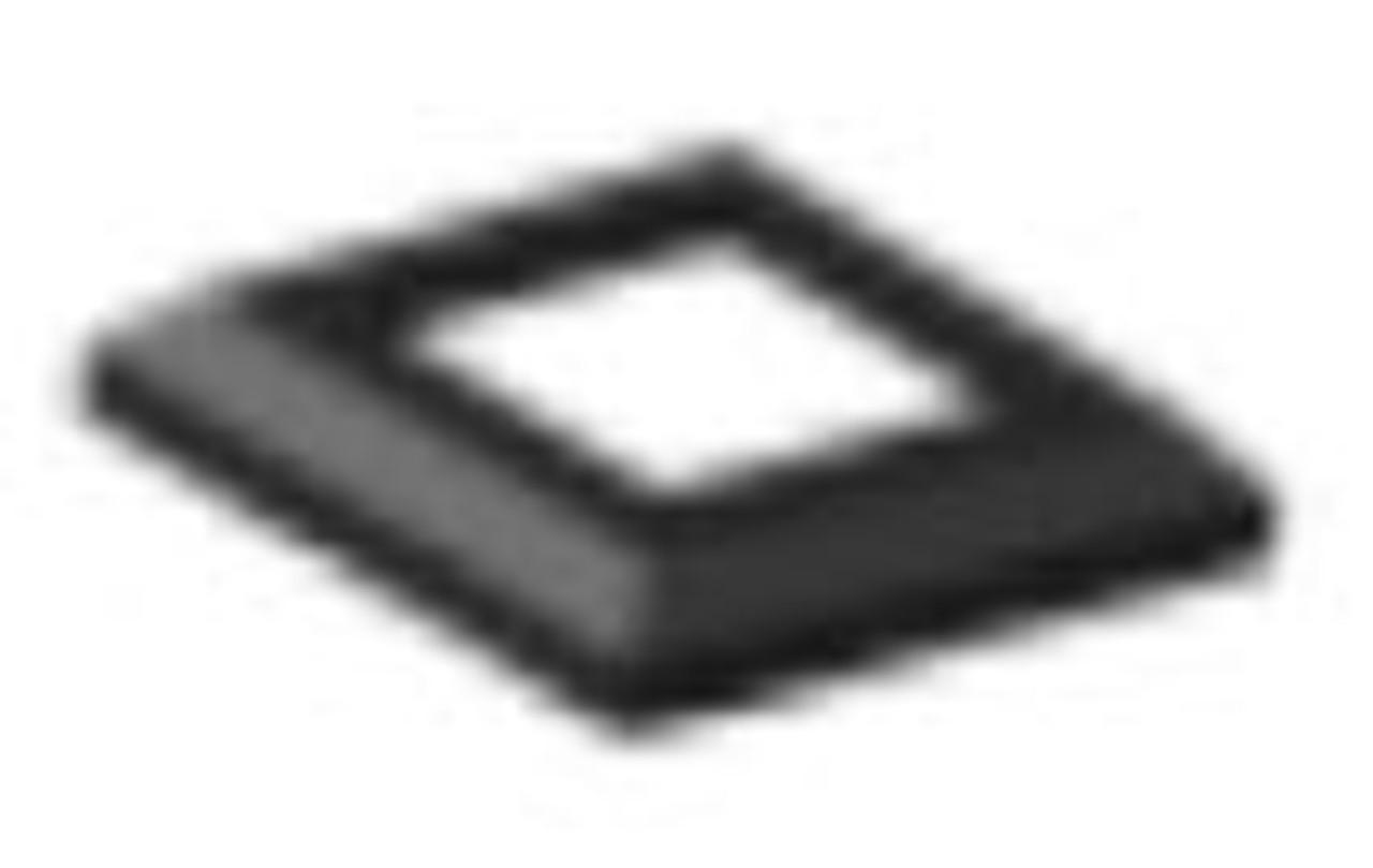 "Fortress Fe26 2"" x 39.5"" Post Black Sand"