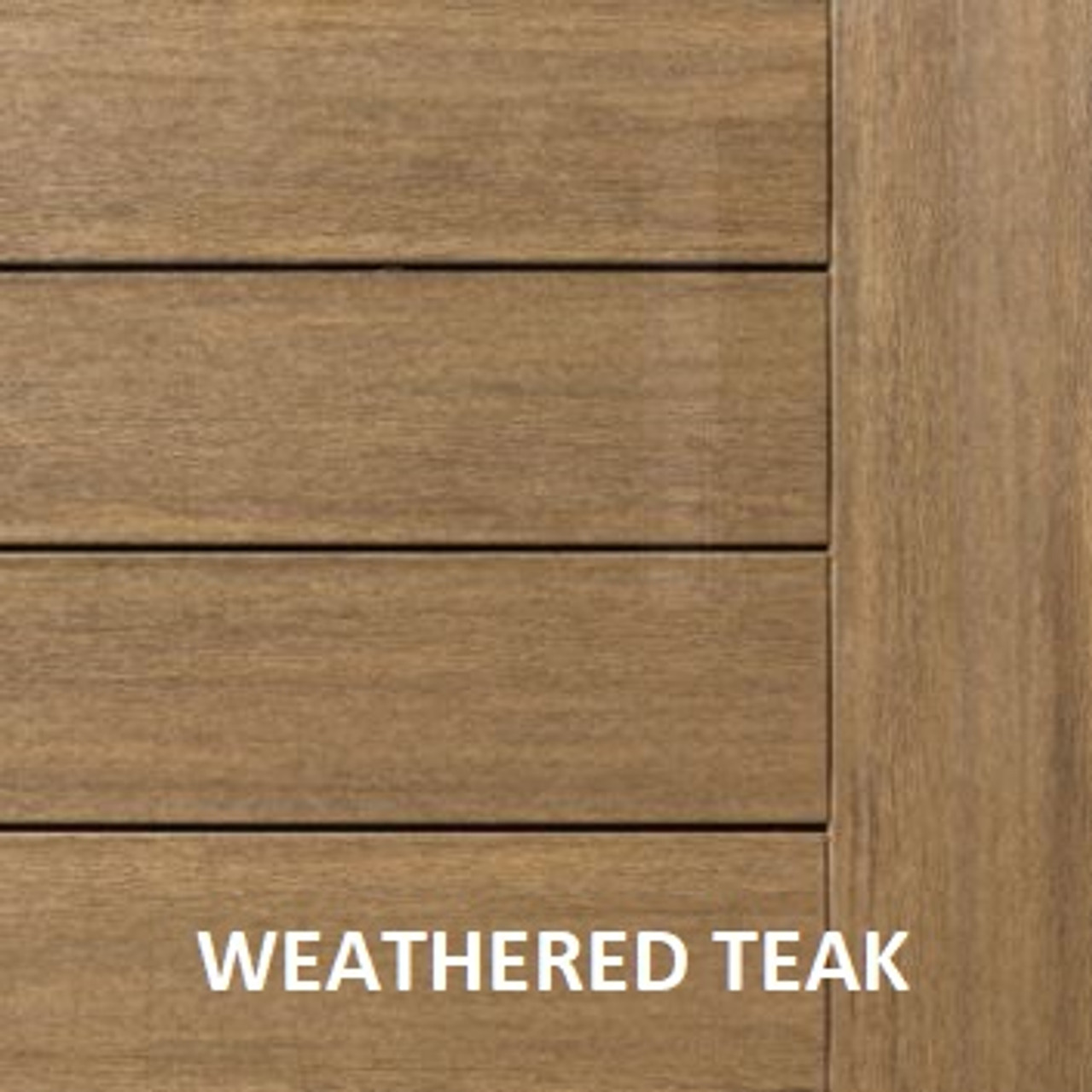 AZEK Vintage Decking Weathered Teak
